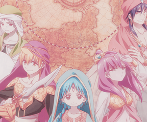 magi, anime, and Sinbad image