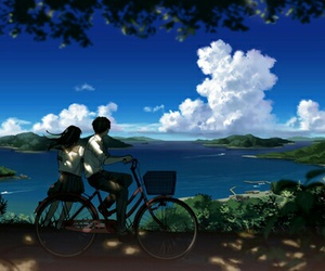 anime and scenery image