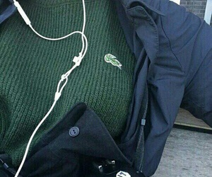 lacoste, style, and green image