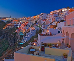 santorini, Greece, and travel image