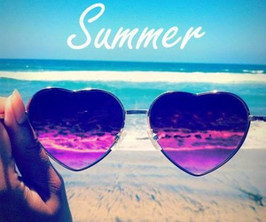 pink, beach, and photos image