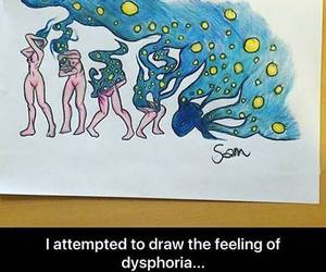 draw, drawing, and dysphoria image