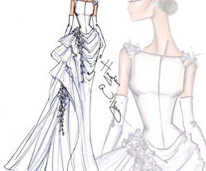 hayden williams, fashion, and wedding dress image