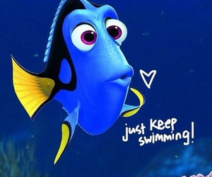 nemo, dory, and disney image