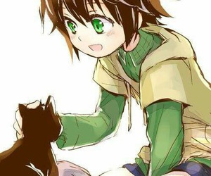 art, cat, and seraph of the end image