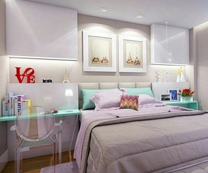 bedroom, decoration, and interior design image