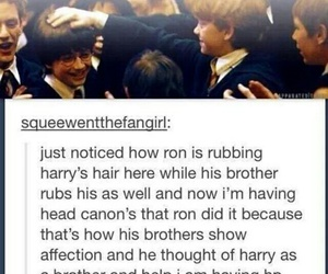 harry potter, brothers, and ron weasley image