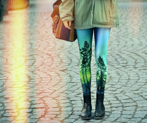 fashion, leggings, and style image