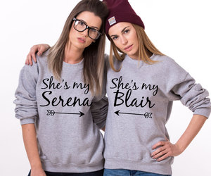 best friends, serena blair, and etsy image