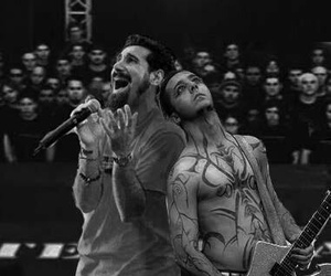black and white, soad, and system of a down image