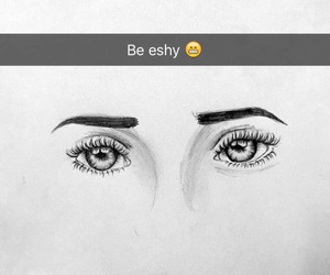 art, eyes, and b&w image