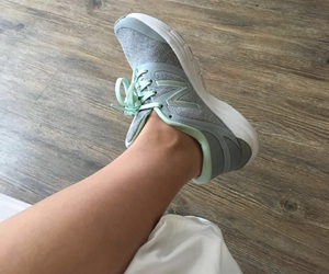 cool, shoes, and new balance image