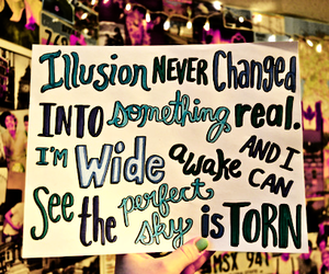 one direction, torn, and Lyrics image