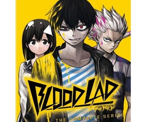 wolf, blood lad, and staz image