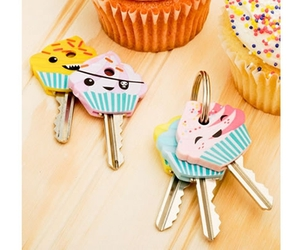 cupcake, key, and cute image