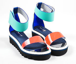 colorful, sandals, and nicholas kirkwood image