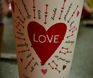 coffee, starbucks, and love image