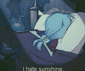 sunshine, hate, and disney image