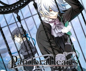 pandora hearts, xerxes break, and gilbert nightray image