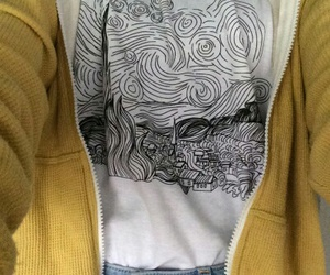 clothes, drawing, and t-shirt image