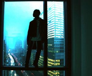 lights, night, and urban image