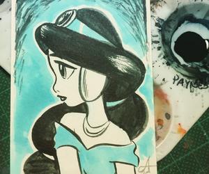 aladdin, art, and disney image