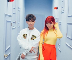 chanhyuk, akmu, and suhyun image