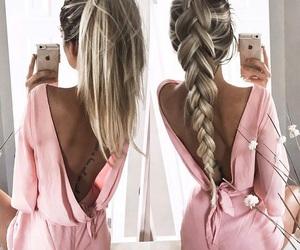 beautiful, ponytail, and hermosa image