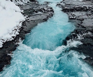 blue, beautiful, and water image