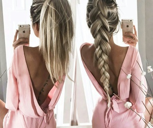 braid, hair, and inspiration image