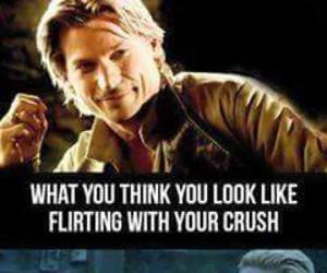 game of thrones, funny, and crush image