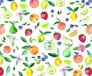 background, fruit, and pattern image