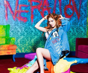 colorful, jessica, and snsd image