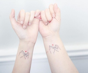 heart, tattoo, and promise image