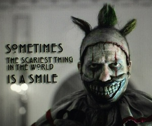 ahs, american horror story, and clown image