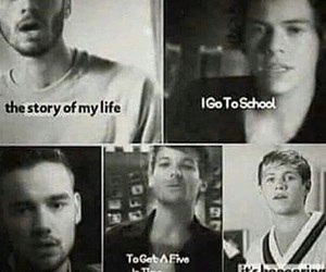 parody, story of my life, and 1d image