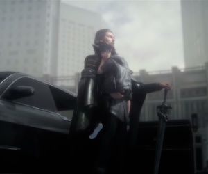 game, noctis lucis caelum, and father & son image