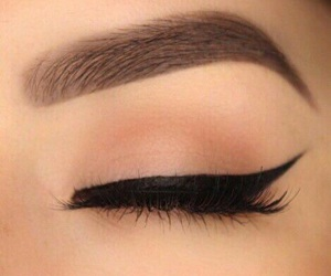 makeup and cute eyeliner image