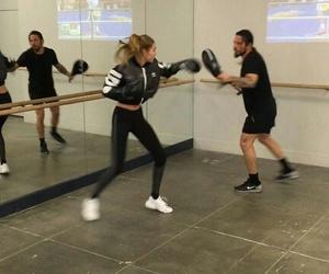 boxing, gigi hadid, and model image