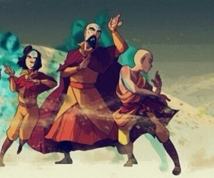 aang, avatar, and ikki image
