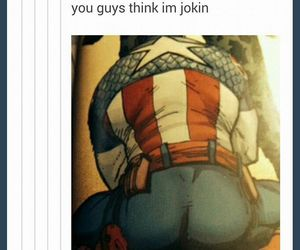 ass, captain america, and comic image