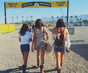 coachella, country, and cowboy image