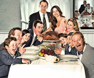 modern family, funny, and tv show image