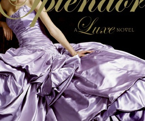 book, dress, and purpple image