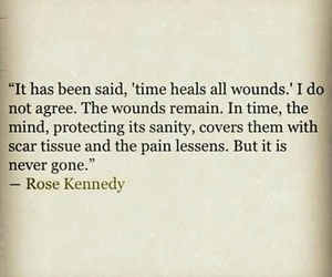 quotes, time, and wound image