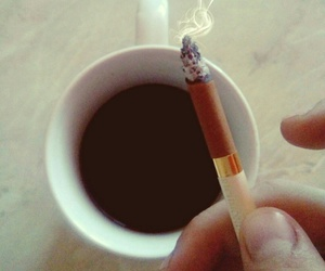 cigarettes, coffe, and morning image