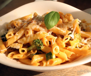 pasta and yummy image