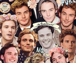 sam claflin, Collage, and finnick odair image