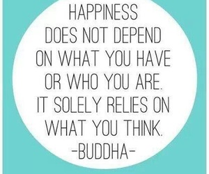 happiness, Buddha, and quotes image