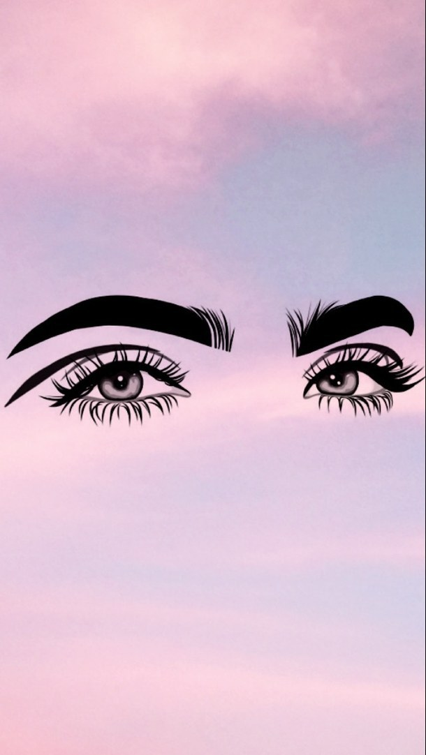 Background/wallpaper of eye makeup